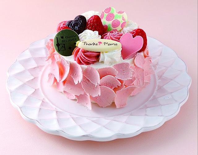 母の日限定のスペシャルケーキ ブランルージュ