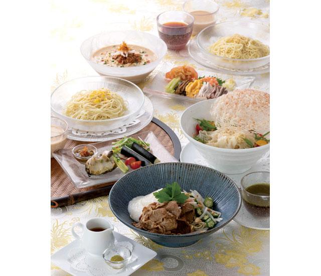 ホテルオークラ福岡で毎年好評の『夏の麺フェア』開催へ