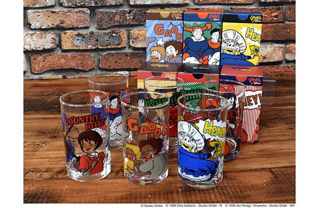 どんぐり共和国でジブリ作品グッズの新商品「ヴィンテージグラスコレクション」発売へ