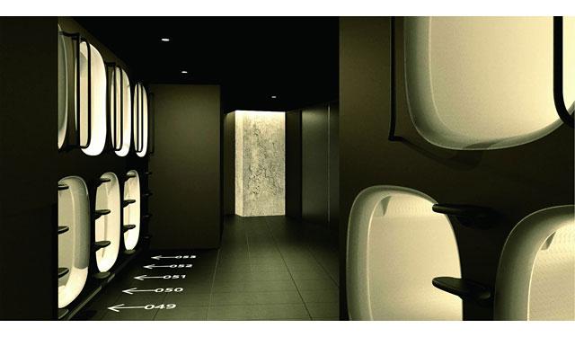 九州地区に初出店のカプセルホテル「ナインアワーズ」オープン日が決定