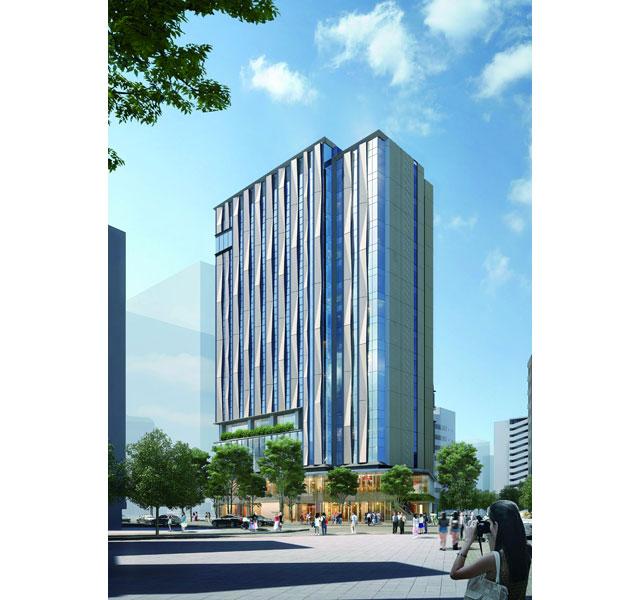 JR九州が建設を進める「THE BLOSSOM HAKATA Premier」の開業日が決定