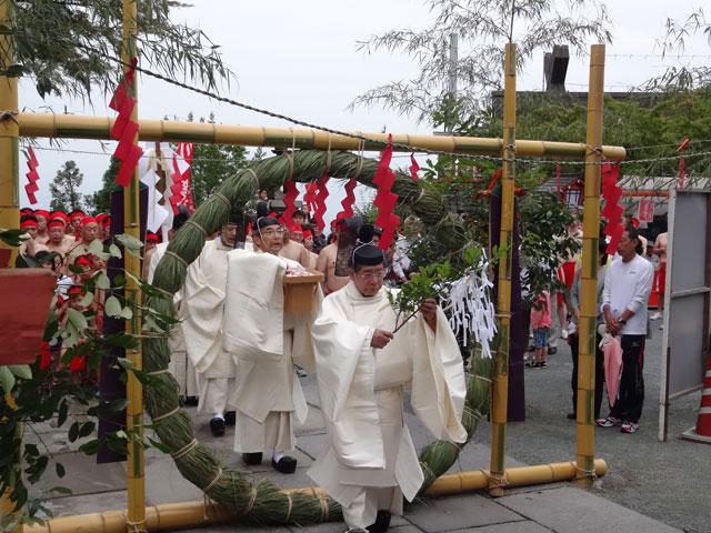 久留米市の高良大社にて「川渡祭(かわたりさい)」開催
