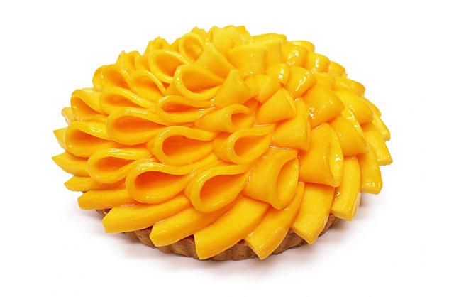 カフェコムサから宮崎県産完熟マンゴー「太陽のタマゴ」使用のケーキ発売へ