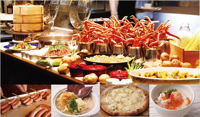 """西鉄グランドホテル毎年好評のフェアが今年も開催!ズワイガニ、かにイクラ丼など""""北海道の幸""""が食べ放題!"""