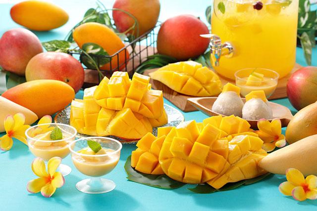 スイパラが『プラス480円でマンゴー食べ放題』全店舗で開催