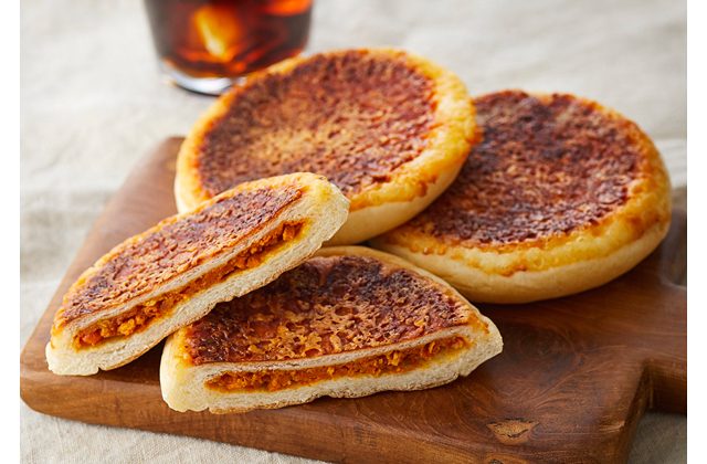 焼きチーズ&トマトカレー