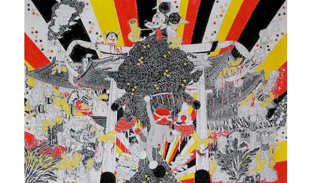 「太陽信仰」や「神と人間の在り方」を探求する現代美術作家・原口勉の個展開催