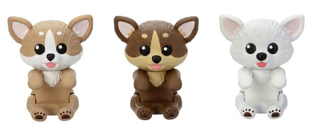 セガトイズから世界最小級ペット玩具『ゆびわんこ』今秋発売へ
