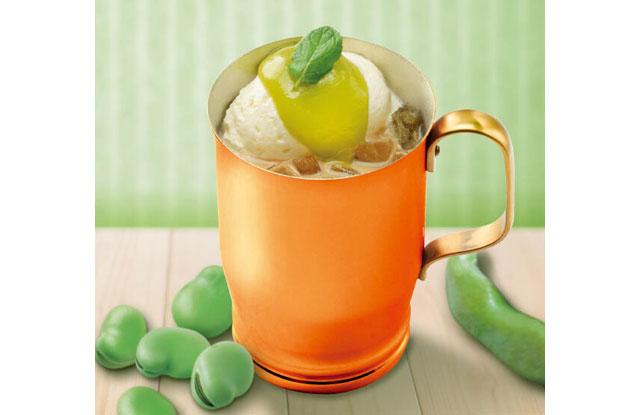 上島珈琲店から季節の新メニュー「そら豆のミルク珈琲」と「トラディショナルWアイスカフェ」登場