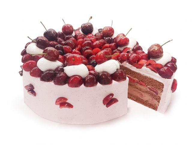カフェコムサが6月の「ショートケーキの日限定ケーキ」を発表