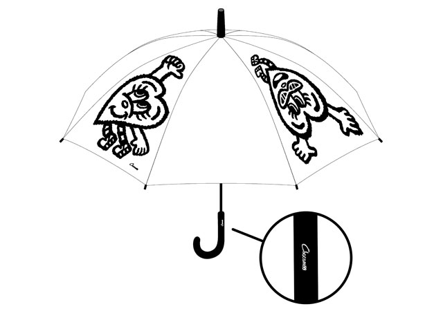 「DANCE」65cmジャンプ式傘 1,186円(税別)
