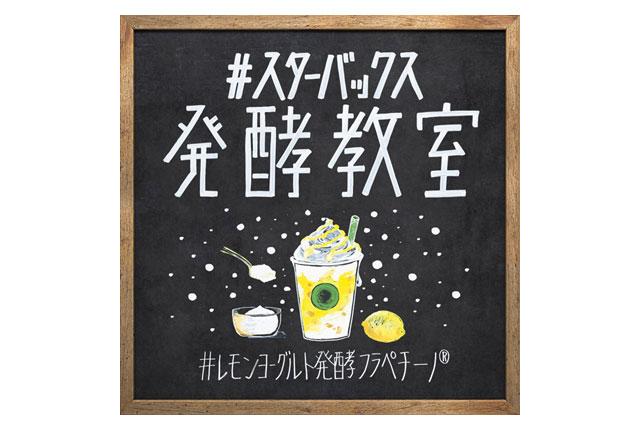 """スタバから""""発酵""""に着目した『レモン ヨーグルト 発酵フラペチーノ®』発売へ"""