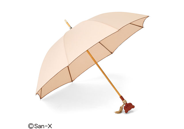 フェリシモからリラックマの「フリンジ付き晴雨兼用傘」登場