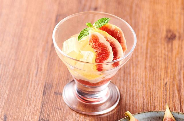 大戸屋から国産果実使用の『いちじくのデザート』新登場