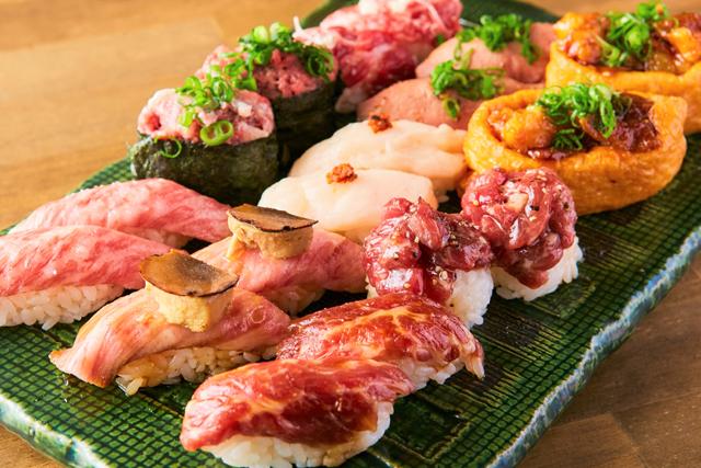 """梅雨到来!""""雨の日""""はハイボールを何杯飲んでも99円に! 肉寿司で「雨割キャンペーン」を実施!"""