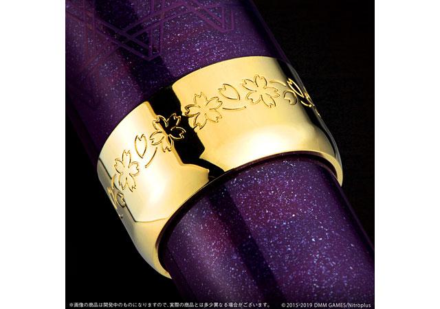 「刀剣乱舞-ONLINE-」へし切長谷部イメージの万年筆が発売へ