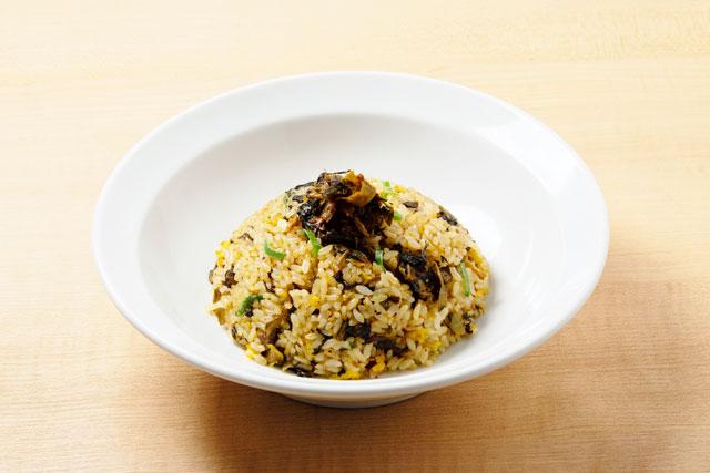 「高菜チャーハン」690円(税別)