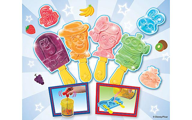 キャラのアイスが作れる商品「トイ・ストーリー4 アイスキャンディーメーカー」発売へ