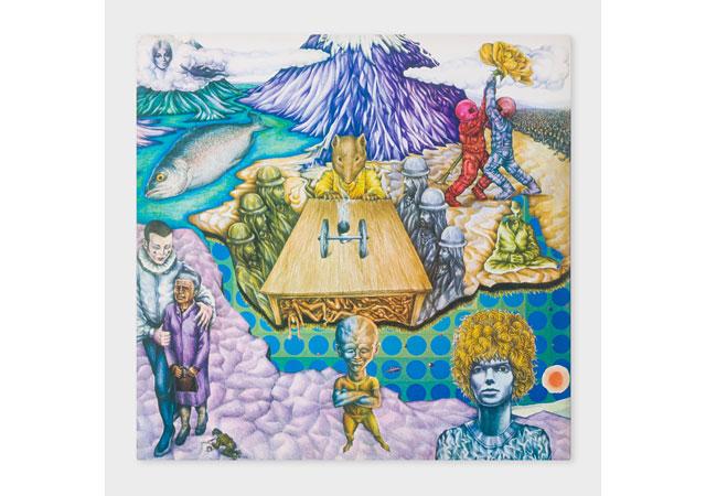 ポール・スミスからデヴィッド・ボウイのアルバム「スペイス・オディティ」の50周年を記念した限定アナログ盤発売へ