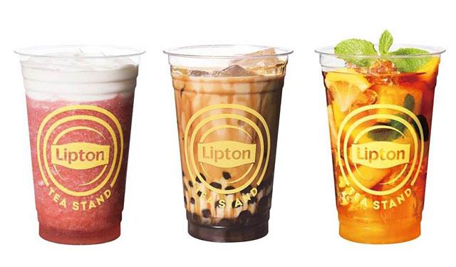 博多マルイの「Lipton TEA STAND」から『黒糖ウーロンマーブルティーwithタピオカ』発売へ