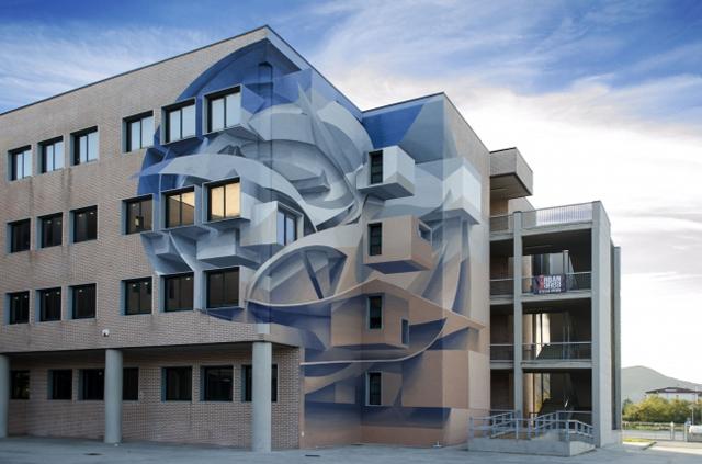 世界各国で活躍するイタリアのグラフィティアーティスト・Peeta氏が初来日!約400㎡の外壁に描く巨大ウォールアート制作が福岡で遂にスタート!