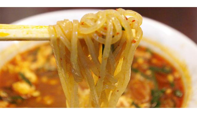 「辛麺屋 桝元 筑紫野店」オープン!食物繊維を多く含みダイエットに最適な独特の麺!