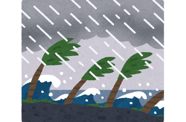 台風の番号の付け方と「命名」の方法とは?