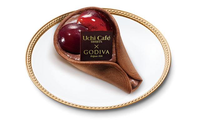 Uchi Café×GODIVA チェリーショコラワッフル