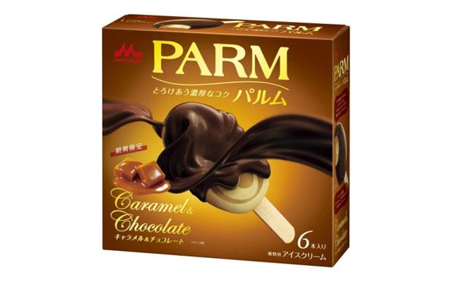 森永乳業のパルムから期間限定フレーバー「キャラメル&チョコレート」発売へ