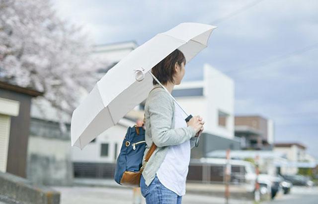 """折りたたみ傘の""""小ささ""""を克服した『シェアリー』ヴィレヴァン通販に登場"""