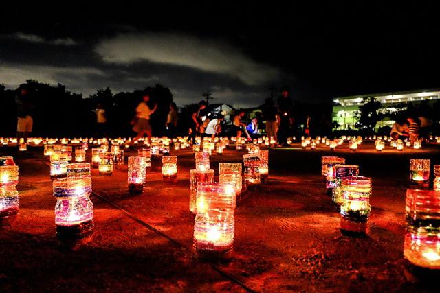 千の灯が作り上げる神秘的な空間「賀茂の千灯明祭2019」開催