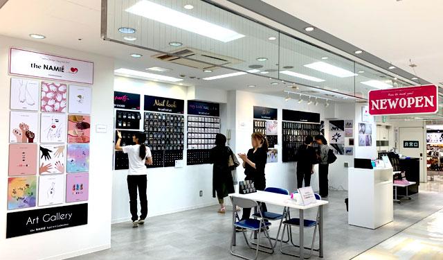 天神コアに韓国のネイルシールブランド「the NAMIE」期間限定オープン