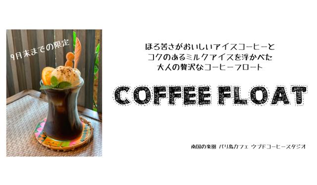 大人の贅沢 自家焙煎コーヒー専門店の「絶品コーヒーフロート」