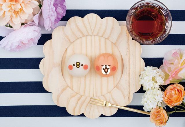 食べマスモッチの第5弾「カナヘイの小動物 ピスケ&うさぎ」ローソン限定発売
