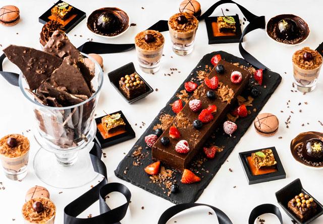 ANAクラウンプラザホテル福岡で「ワールドチョコレート~ブラック&ホワイト~」開催へ