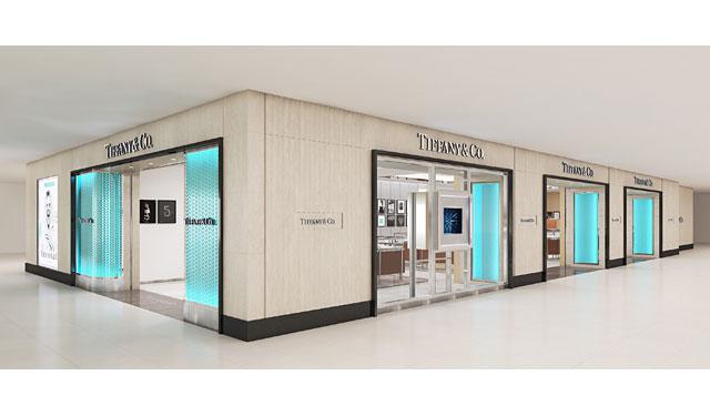 ティファニーが「ティファニー小倉井筒屋店」を新たにオープン
