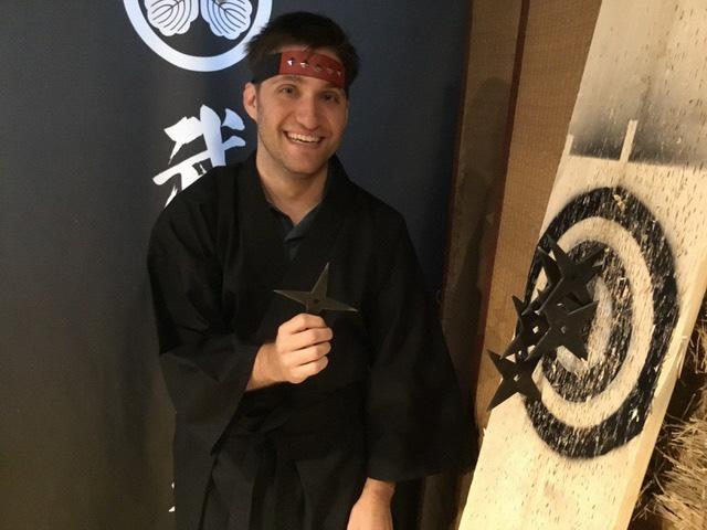 刀や手裏剣・吹き矢などの本格的な忍者・侍の体験が可能に!「忍者・侍道場」