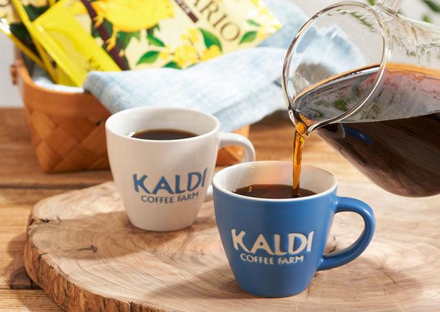 カルディから『ドリップコーヒー&オリジナル ミニカップセット』発売へ