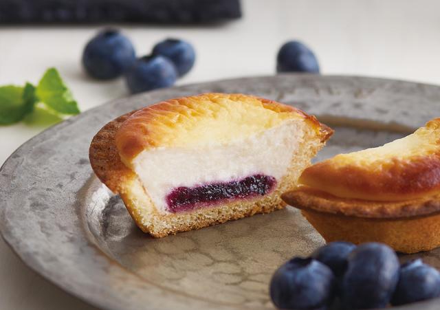 ベイクから北の大地が育んだブルーベリーを使用した「ブルーベリーチーズタルト」が登場!