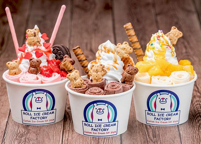 博多マルイに元祖・ロールアイス専門店『ロールアイスクリームファクトリー』登場