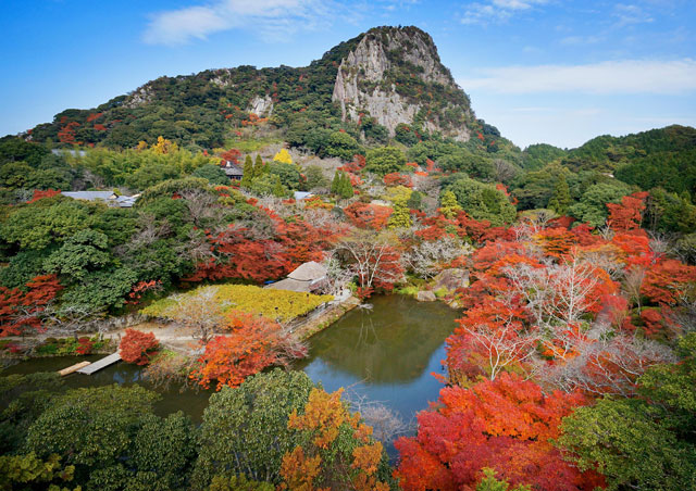 来月より温泉と紅葉の武雄市を楽しめる季節に