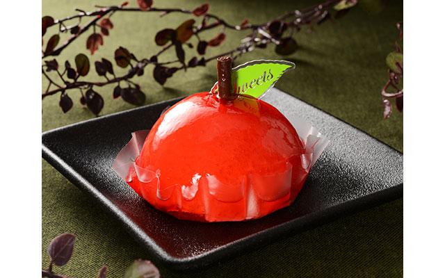 赤りんごケーキ
