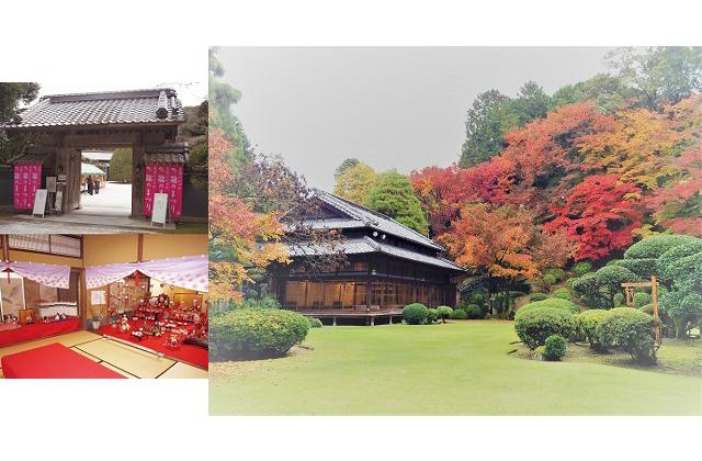 筑豊御三家「麻生家の別邸」で11月、秋の紅葉特別公開
