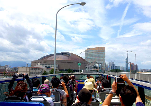 福岡オープントップバス「ホークスコラボツアー」の運行が決定