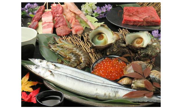 旬の料理の数々「旬菜炭火焼 燎(かがりび)」オープン!