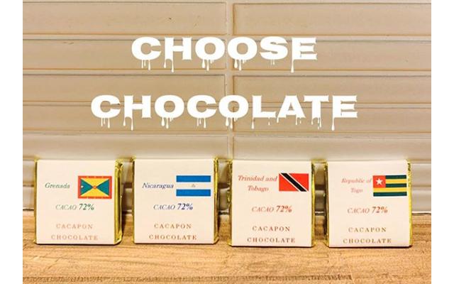 自家焙煎コーヒー専門店・ウブドコーヒースタジオ「コーヒー×チョコレートのペアリングセット」始めました!