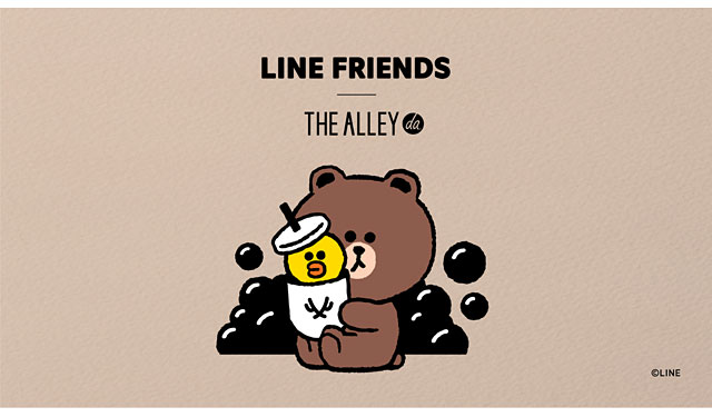 THE ALLEY×LINE FRIENDS コラボ展開を期間限定実施へ