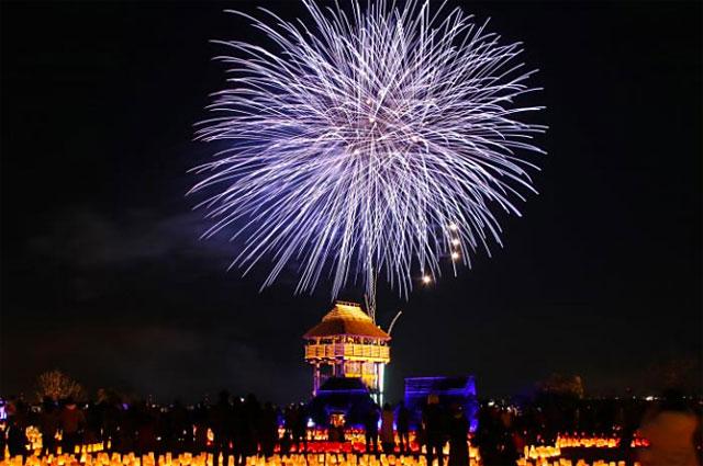 国営吉野ヶ里歴史公園「吉野ヶ里 光の響」今年も開催決定