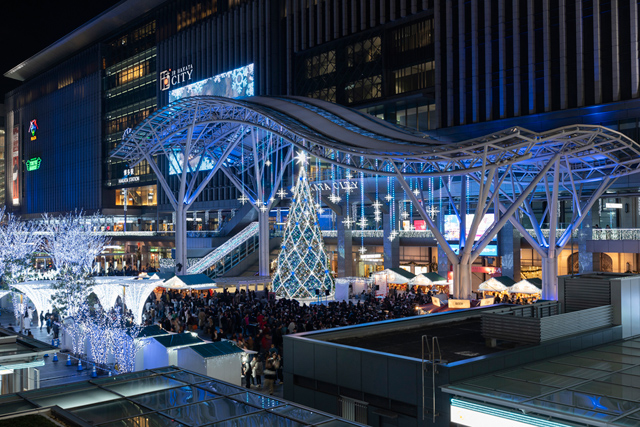 JR博多駅前広場「クリスマスマーケット」11月12日開幕!