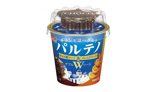 森永乳業からパルテノ初のWソース「チョコ風ソース&オレンジソース」発売へ